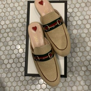 NWT Gucci Princetown mule 38